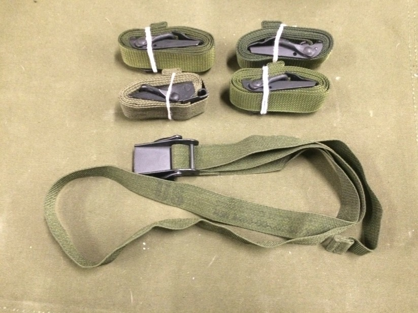 5 Pack Multipurpose Military Cam Buckle Straps