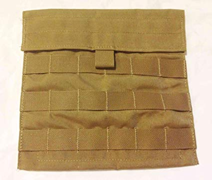 Coyote Brown MOLLE Utility Pouch / Side Plate Pouch