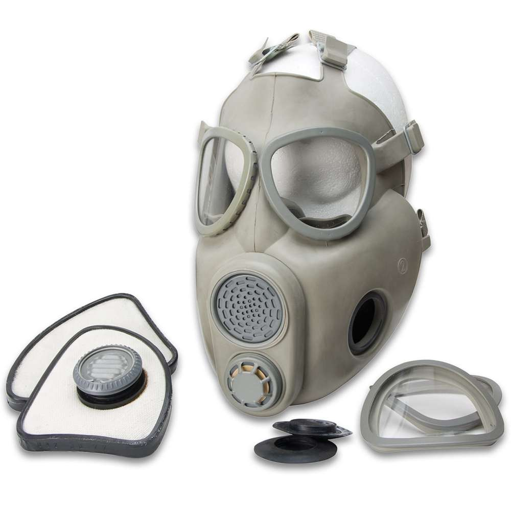 M-10 Gas Mask Kit, Unused