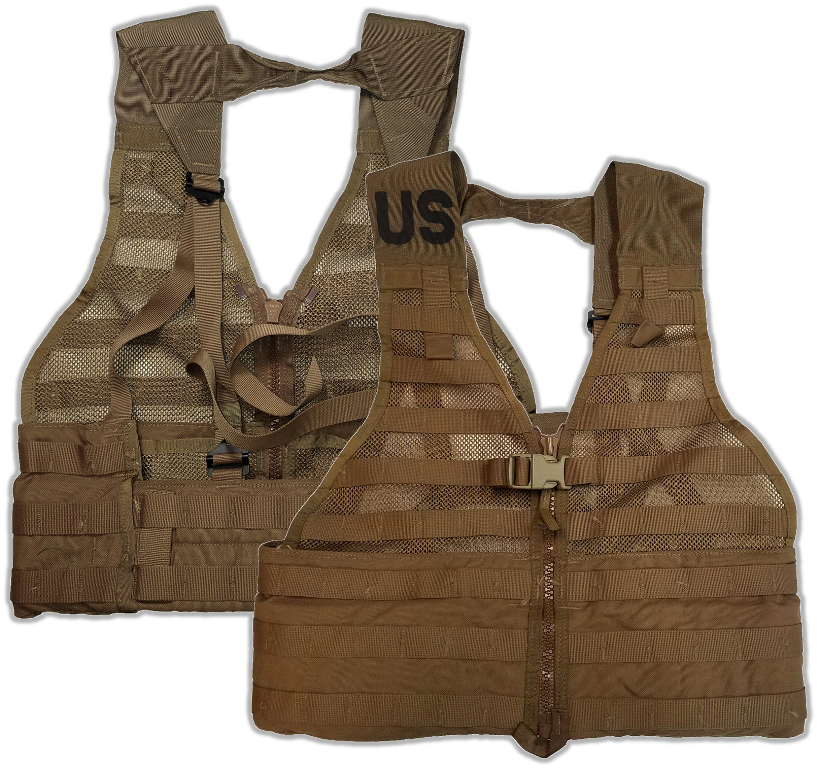 Coyote Brown MOLLE II Fighting Load Carrier FLC Vest