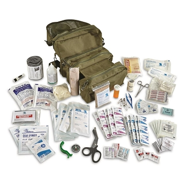 Tactical Medical Kit in M-3 Bag