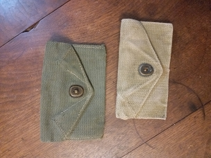 Vintage WWII pouch - Bandages