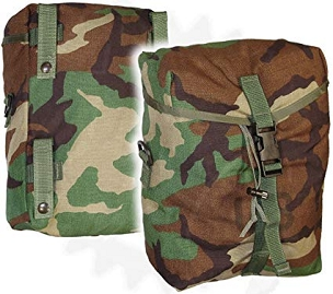 MOLLE Sustainment Pouch- Woodland Camo