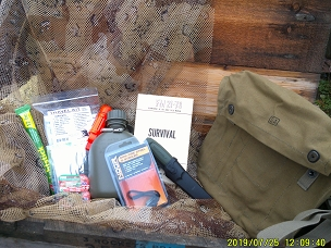 Limited Edition Survival Kit Set- Shoulder Bag Version