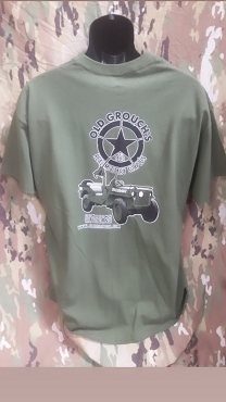 Old Grouche 's Military Surplus Tshirt
