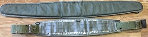 Special Padded MOLLE War Belt / ALICE Pistol Belt Cover