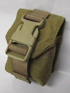 Coyote Brown Grenade Pouch- Also Hold M1 Carbine Magazine, SKS Stripper Clips, Mosin Stripper Clip & More