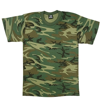 Children's Woodland Camo Shirts