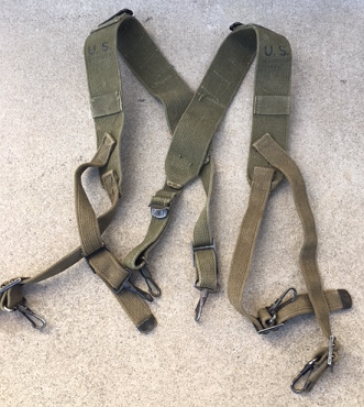 M-1944 Suspenders- used in WWII, Korea and early Vietnam